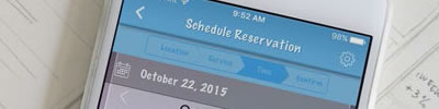 reservations mobile app